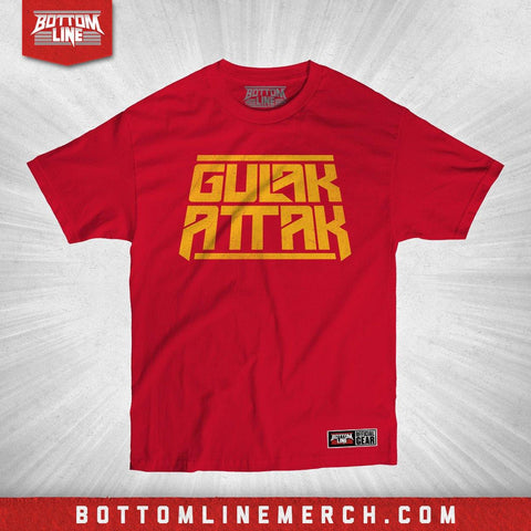 "Buy Now – Drew Gulak ""Attak Stack"" Shirt – Wrestler & Wrestling Merch – Bottom Line"