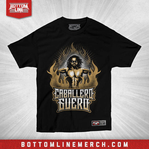 "Buy Now – Johnny Mundo ""Caballero Guero"" Shirt – Wrestler & Wrestling Merch – Bottom Line"