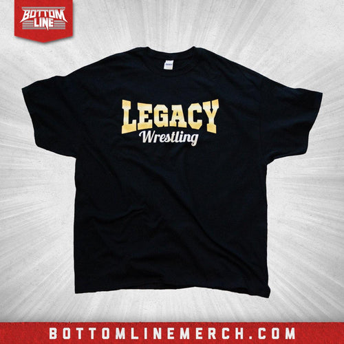 "Legacy Wrestling ""Logo"" Black Shirt"