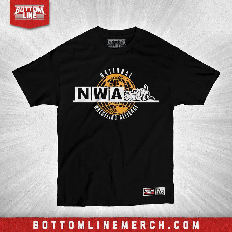 "National Wrestling Alliance ""Globe Logo"" Shirt"