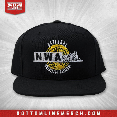 "National Wrestling Alliance ""Globe Logo"" Snapback"