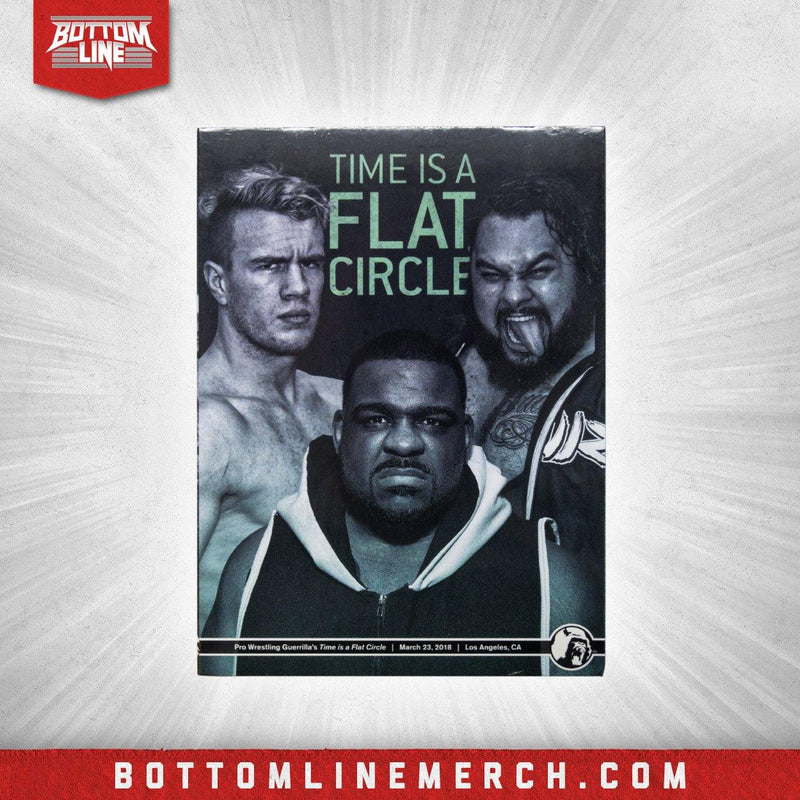 "Guerrilla's ""Time is a Flat Circle"" 03/23/18 DVD"