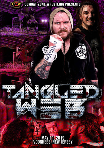 "Buy Now – CZW ""Tangled Web 2019"" DVD 5/11/2019 – Wrestler & Wrestling Merch – Bottom Line"