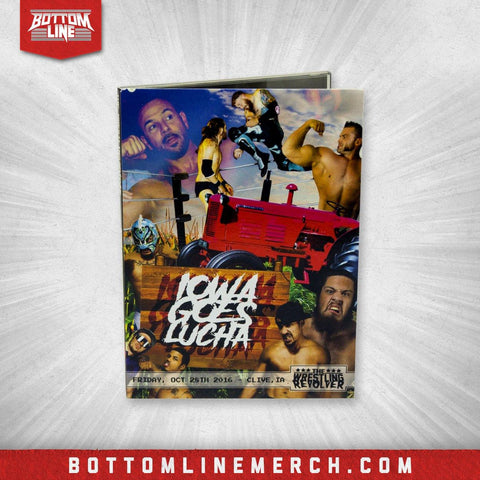 "Buy Now – The Wrestling Revolver ""Iowa Goes Lucha"" DVD (10/28/2016) – Bottom Line"