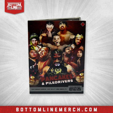 "Buy Now – The Wrestling Revolver ""Pancakes & Piledrivers"" DVD (04/01/2017) – Wrestler & Wrestling Merch – Bottom Line"