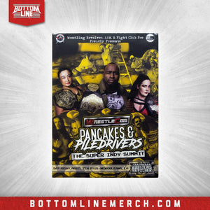 "The Wrestling Revolver ""Pancakes & Piledrivers"" (04/07/18) DVD"