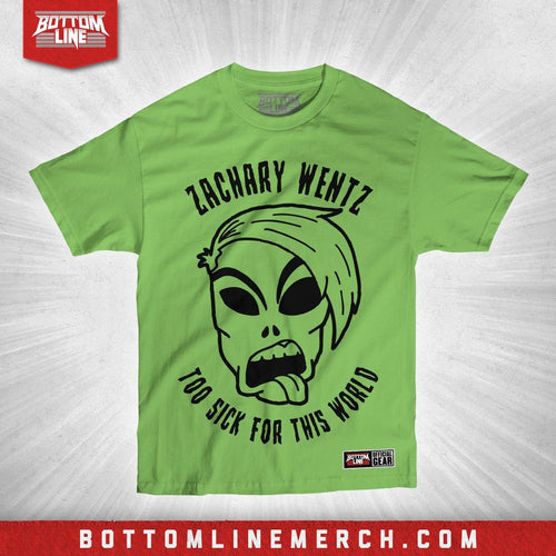 "Zachary Wentz ""Alien Head"" Shirt"