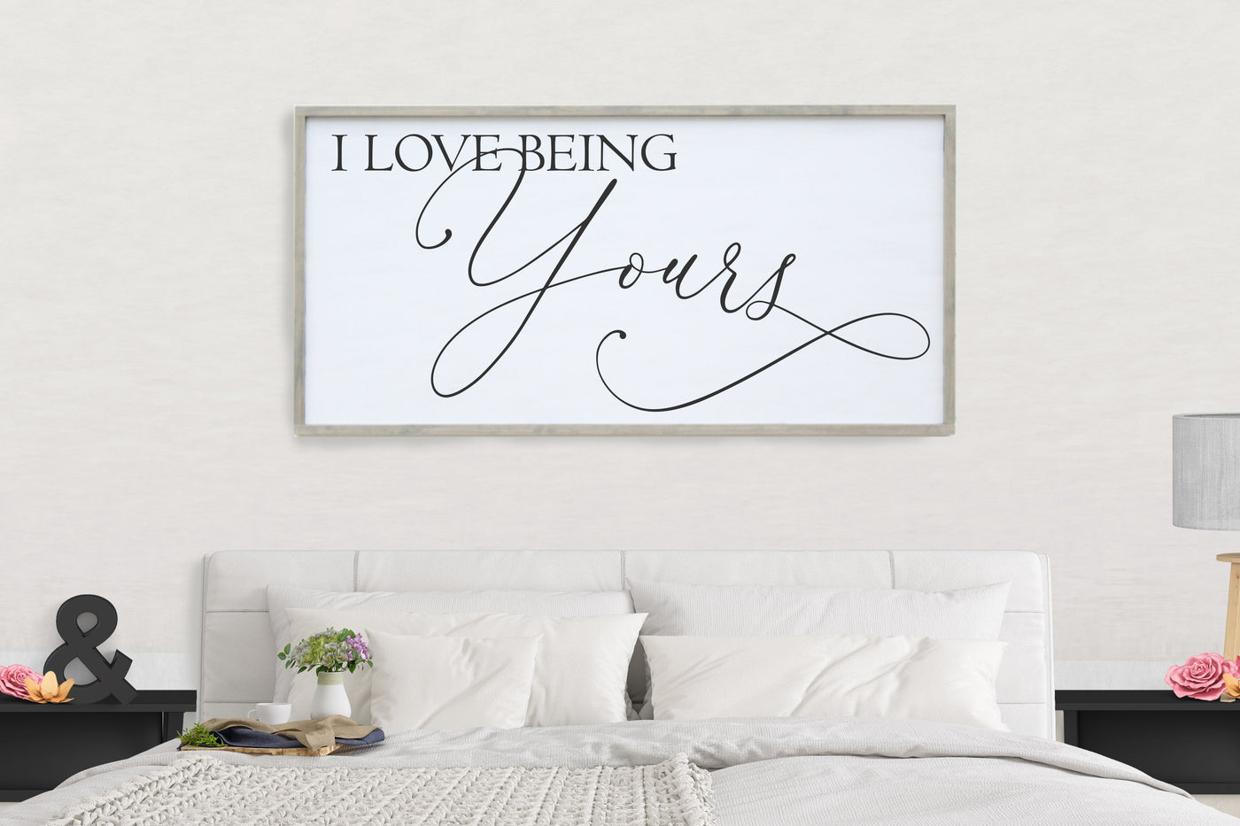 I Love Being Yours Framed Sign Crafty Mama Gifts