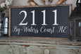 home address sign Crafty Mama Gifts