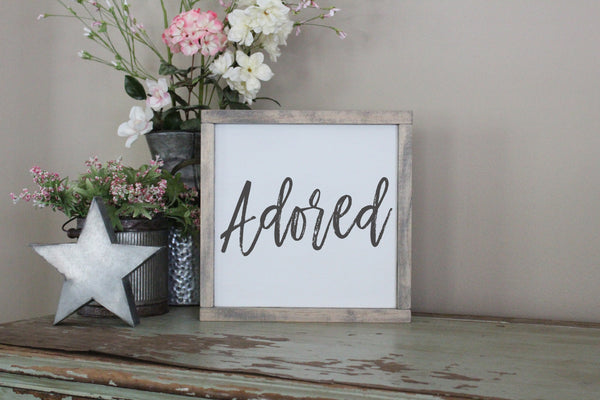 Adored Words Of Affirmation Crafty Mama Gifts