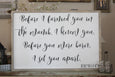 Before I Formed You Jeremiah 1:5 Crafty Mama Gifts