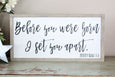 before you were born I set you apart Jeremiah 1:5 Crafty Mama Gifts