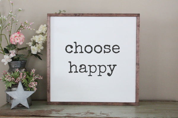 choose happy Crafty Mama Gifts