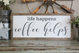 life happens, coffee helps Crafty Mama Gifts
