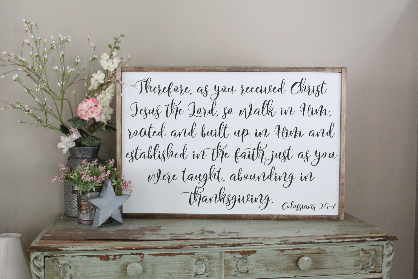 Walk In Him Colossians 2 Crafty Mama Gifts