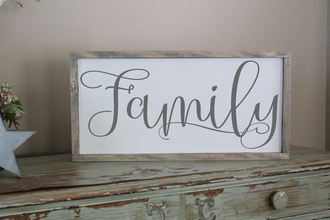 family sign crafty mama gifts