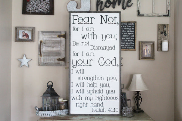 Fear Not Isaiah 41 10 Crafty Mama Gifts