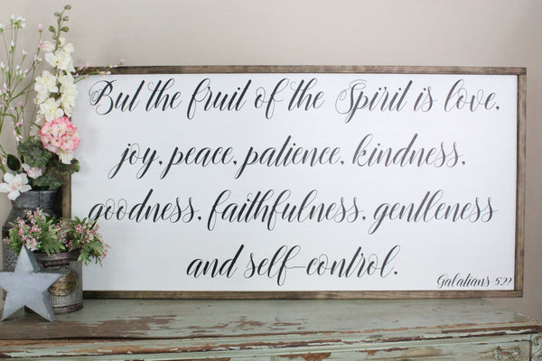 fruit of the spirit Galatians 5 Crafty Mama Gifts