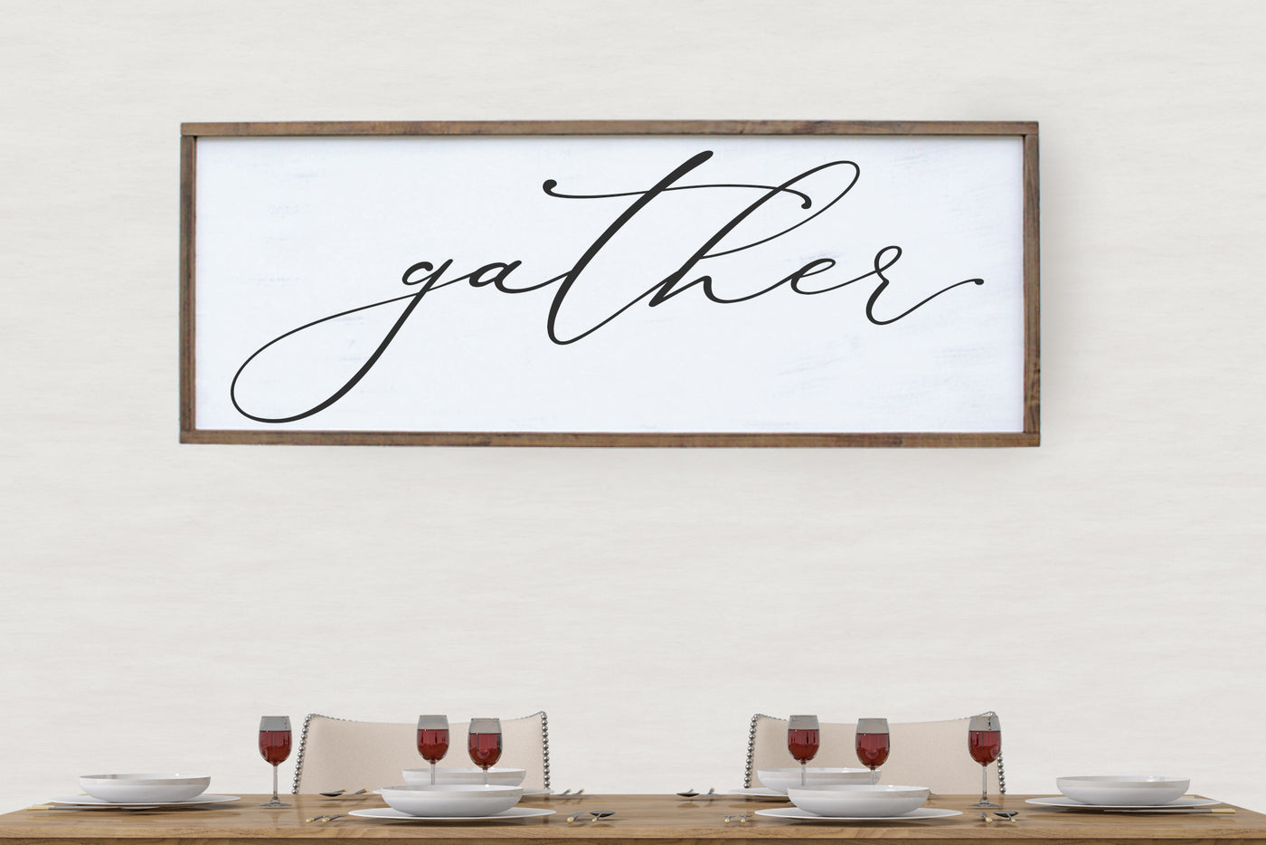 Gather Dining Room Sign Crafty Mama Gifts
