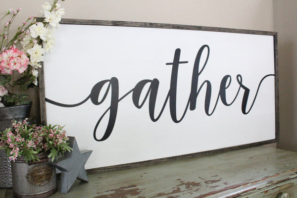 gather living room sign crafty mama gifts