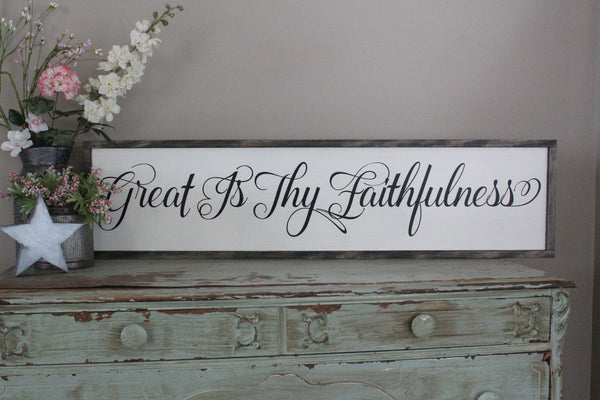 great is thy faithfulness Crafty Mama Gifts