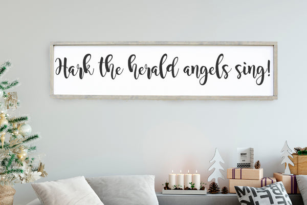 Hark The Herald Angels Sing Crafty Mama Gifts