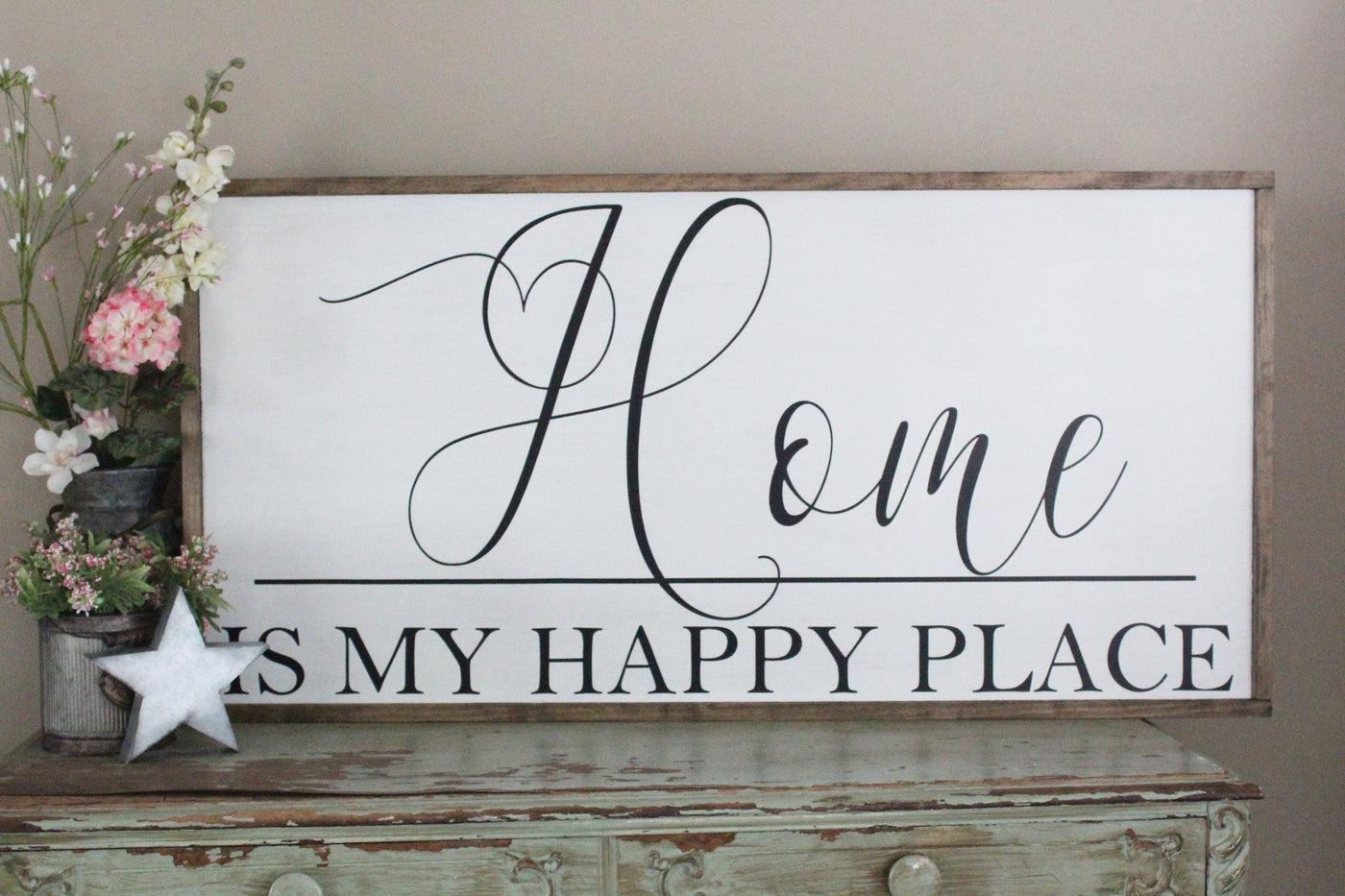 home is my happy place Crafty Mama Gifts