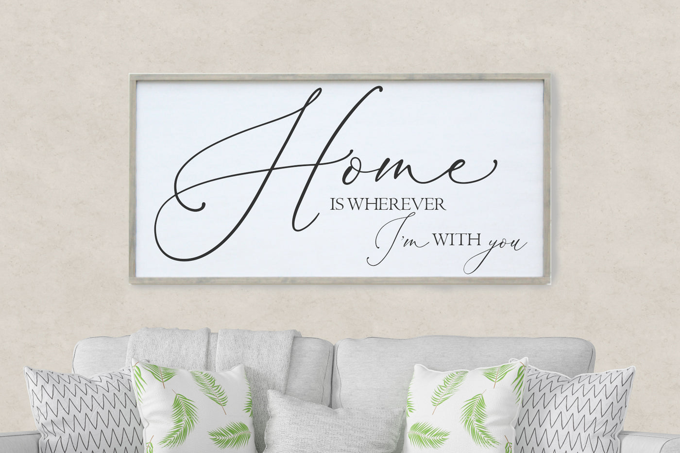 Home is wherever I'm with you Crafty Mama Gifts