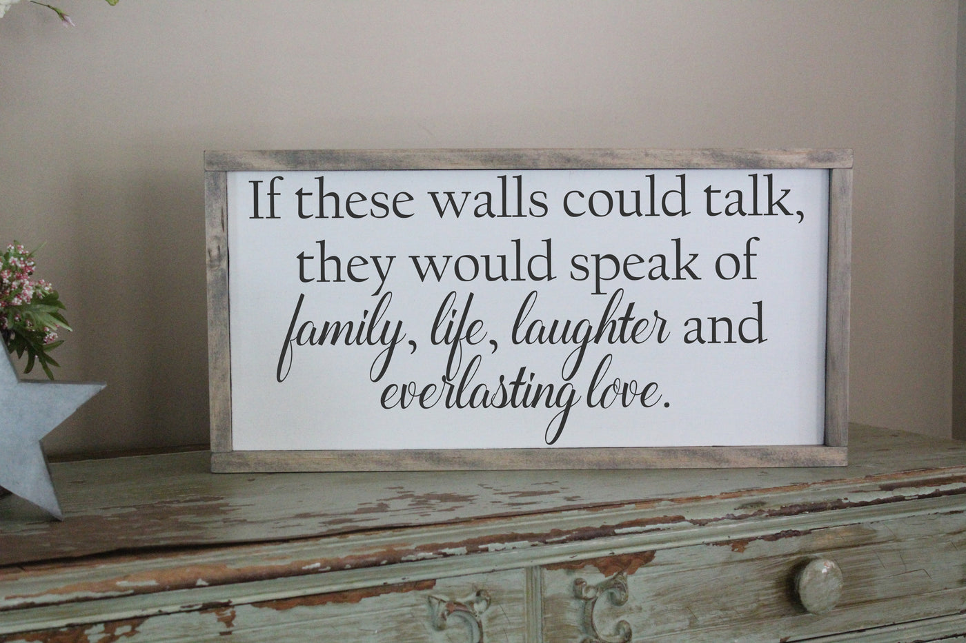 if these walls could talk Crafty Mama Gifts