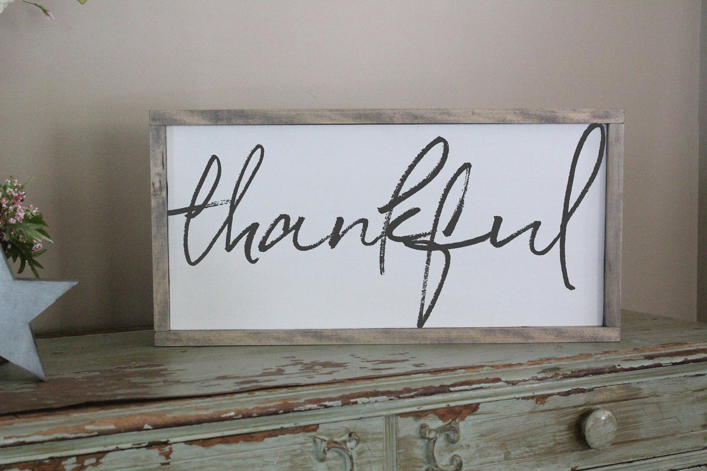 thankful sign Crafty Mama Gifts