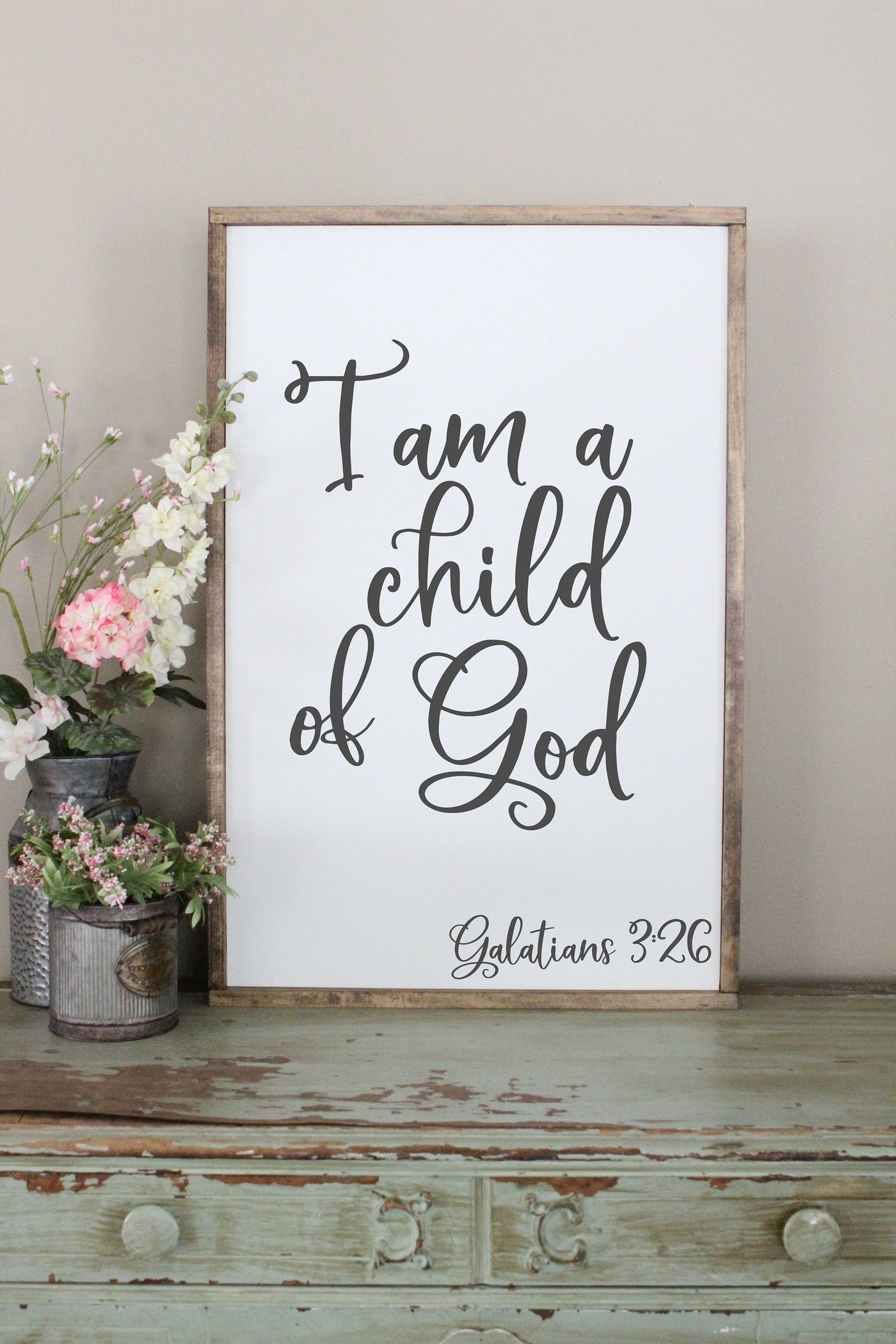 I Am A Child Of God Crafty Mama Gifts