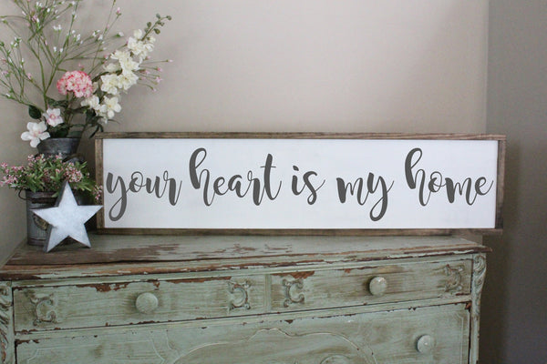 Your Heart Is My Home Crafty Mama Gifts