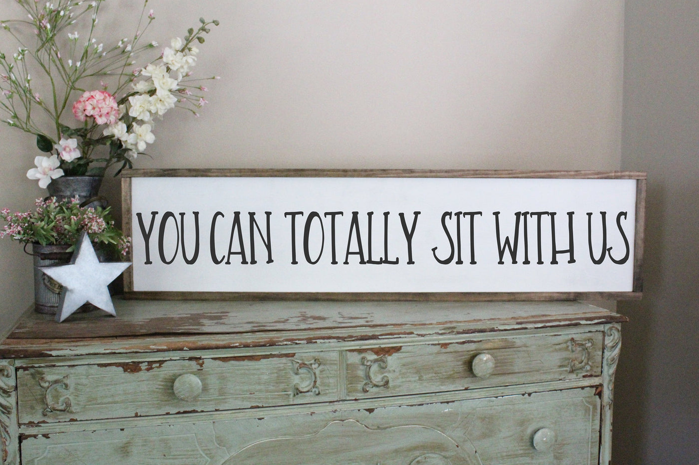 You Can Totally Sit With Us Crafty Mama Gifts