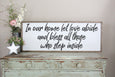 in our home let love abide and bless all those who step inside Crafty Mama Gifts