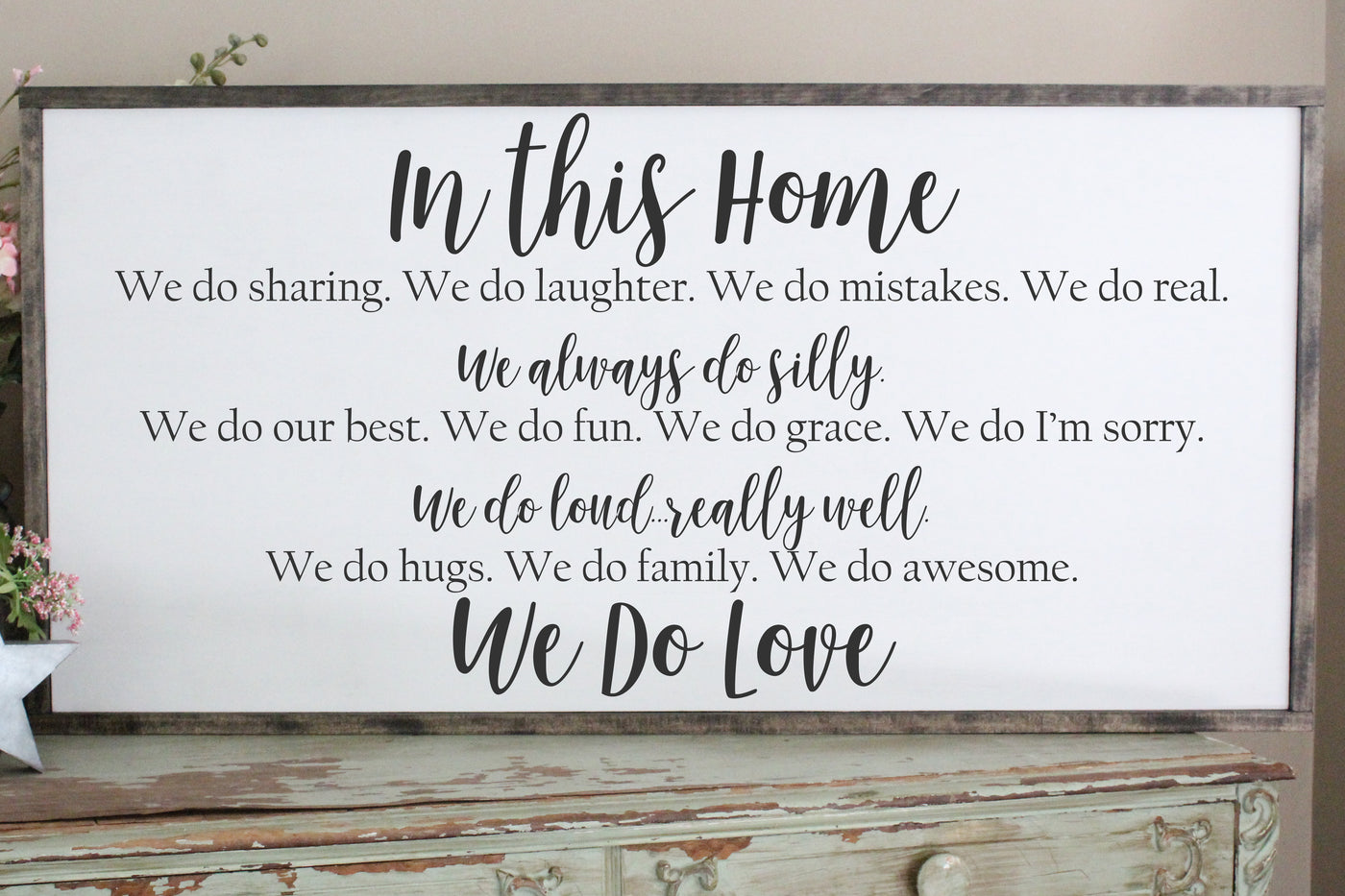 In This Home Family Rules Crafty Mama Gifts
