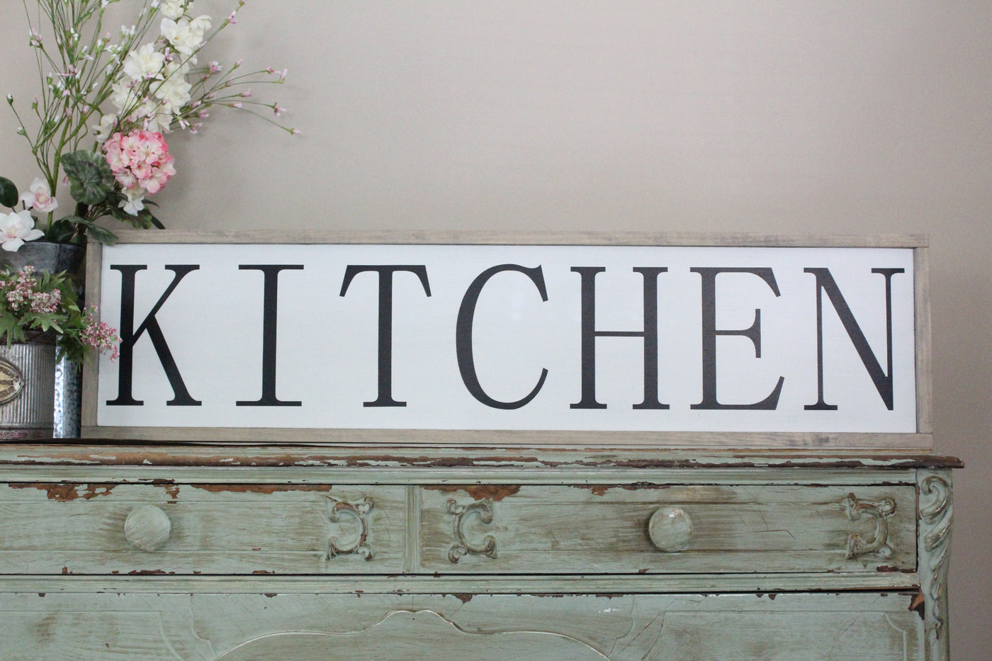 farmhouse kitchen sign Crafty Mama Gifts