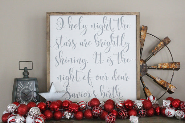 O Holy Night Crafty Mama Gifts