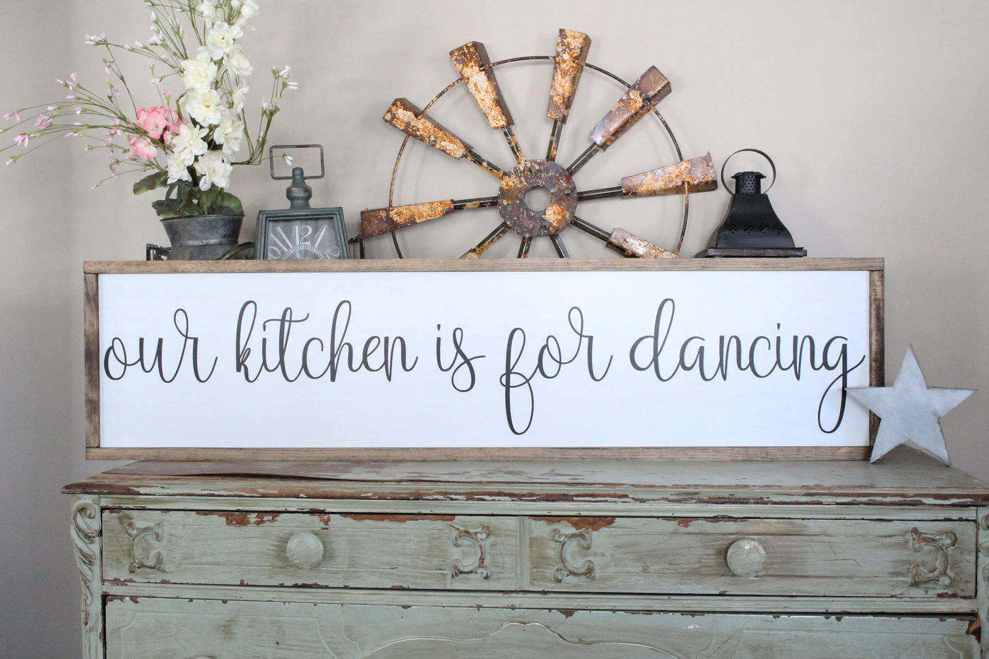 our kitchen is for dancing Crafty Mama gifts
