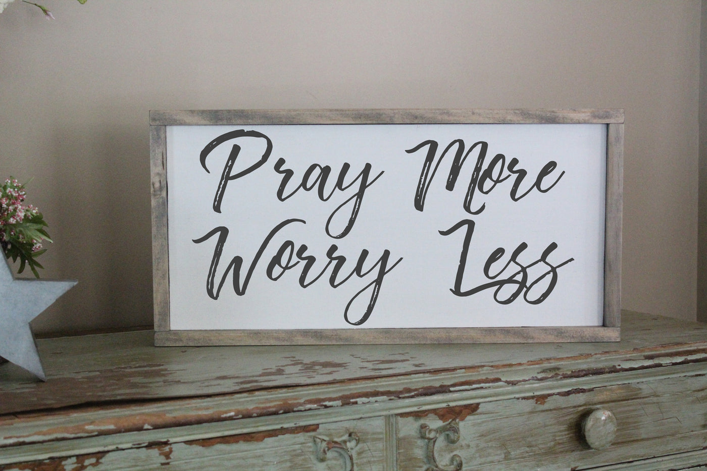 pray more worry less crafty mama gifts