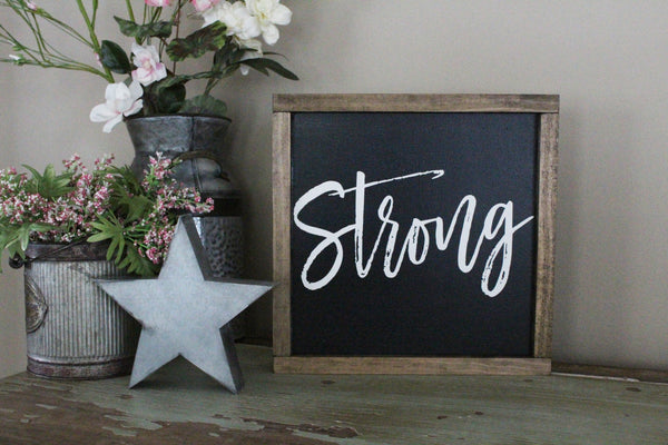 strong words of affirmation Crafty Mama Gifts