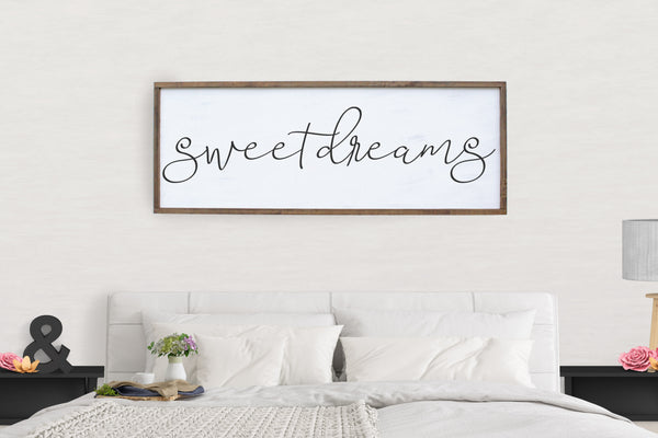 Sweet Dreams Framed Sign Crafty Mama Gifts