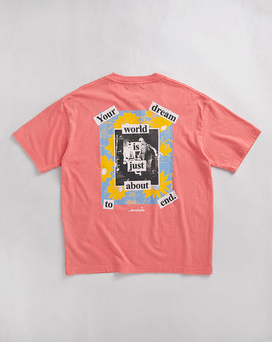 DREAMWORLD TEE - CORAL
