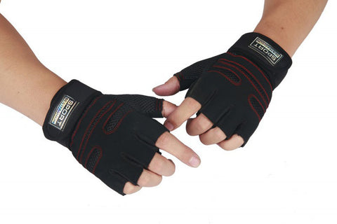 Adult's Adjustable Gym Gloves  Fitness Wrist Wrap