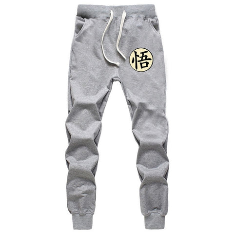 Casual Funny Print Dragon Ball Goku Mens Joggers Sweatpants Plus Size