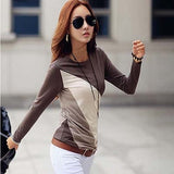 Women Long Sleeve Cotton Tshirt Kawaii Korean Clothing