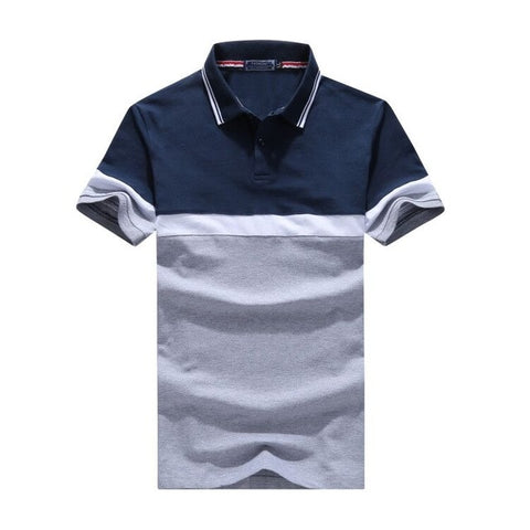 Men's Polos Breathable Cotton Short Sleeve