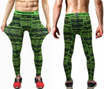 Mens Compression Pants Tights Casual  Bodybuilding  Camouflage Army Fitness Gyms Skinny Leggings