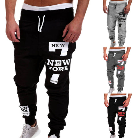 Mens Fashion Trousers Men Pants Casual Pants Sweatpants
