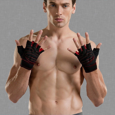 Gym Weight Lifting Gloves with Wrist Support