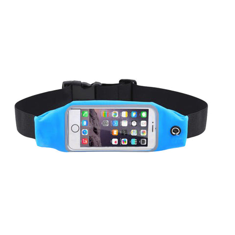 Running Belt for iPhone 7 Samaung S4 Water Resistant  Support Fingerprint Touch
